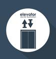 Elevator design vector image vector image