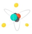 Molecule icon cartoon style vector image vector image