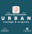 urban t-shirt stamp typography design for vector image vector image