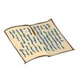 Vintage Handwritten Letter vector image vector image