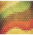 Abstract background of hexagons in retro style vector image
