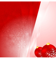 Abstract shiny Christmas background vector image vector image