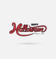 halloween banner trick vector image