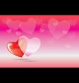 heart boke vector image vector image