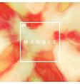liquid marble vector image