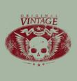 original vintage vector image vector image
