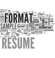 a resume sample will give you a clear idea of vector image vector image