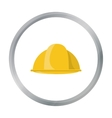 Construction helmet icon in cartoon style isolated vector image vector image