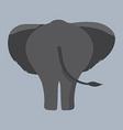 Elephant Bottom vector image