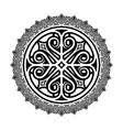 ethnic tattoo 0004 vector image vector image