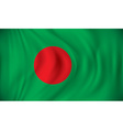 Flag of Bangladesh vector image vector image