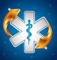 healthcare concept vector image vector image