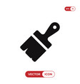 paintbrush icon vector image