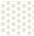 white background with abstract leaf pattern vector image vector image