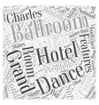 Ballrooms Word Cloud Concept