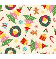 Christmas set seamless pattern