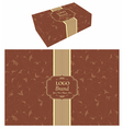Food Box Packaging vector image vector image