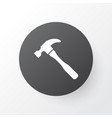 hammer icon symbol premium quality isolated vector image vector image