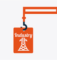 industry concept vector image vector image