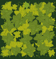 much green foliages vector image vector image
