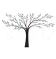 natural background tree vector image vector image