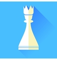 Queen Chess Icon vector image