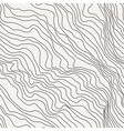 Seamless pattern of curved lines vector image vector image