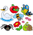 small animals collection 9 vector image vector image