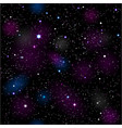 space seamless vector image vector image