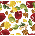 a seamless pattern with vector image vector image