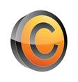 bo copyright vector image vector image