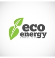 Eco Energy Concept Symbol Icon or Logo Template