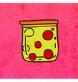 Jar of Balls Cartoon vector image vector image