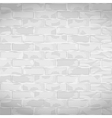 Old white brick wall vector image
