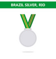 Silver medal brazil rio olympic games 2016