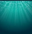 under water background vector image