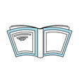 book and education symbol vector image