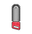 chainsaw farm isolated icon vector image