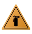 fire extinguisher icon sign vector image vector image