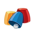 game thimbles vector image