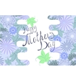Greeting card Happy mothers day EPS10 vector image