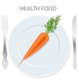 Healthy food icon vector | Price: 1 Credit (USD $1)