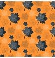 Leaf orange vector image vector image