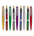 pen and ink pens vector image
