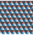 seamless texture with triangle vector image