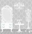boudoir vector image