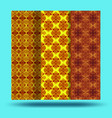 bright seamless pattern background vector image vector image