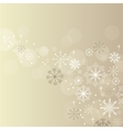 christmas elegant beige background vector image