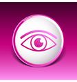 Eye icon vision symbol look graphic pictogram vector image vector image