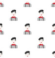 french mime icon in cartoon style isolated on vector image vector image